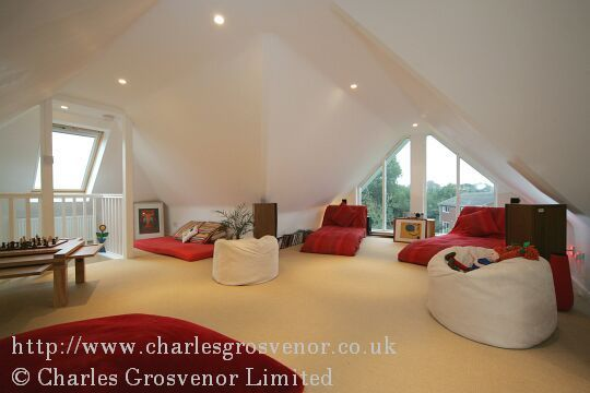 Glass Gable End Loft Conversion