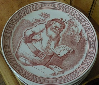 St Nick By Spode For Williams Sonoma Holiday Parties
