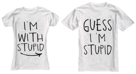@Rachel Bennett I know u said u wouldn't do relationship shirts, but how bout this??? So you ;)