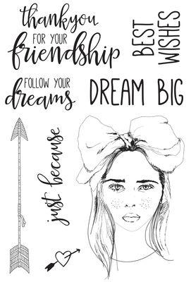 Boho Dreams Clear Stamp