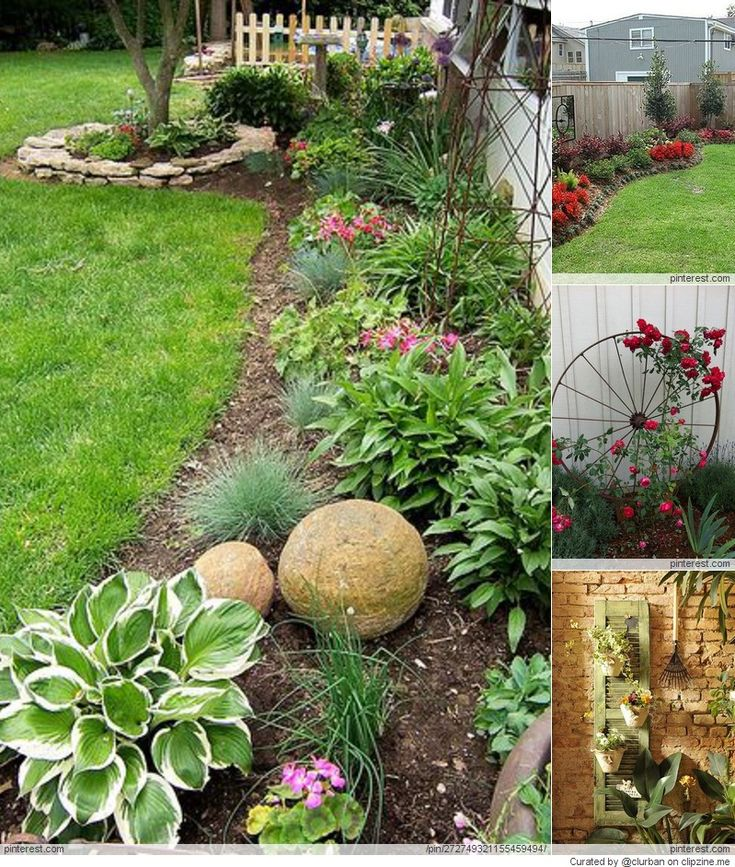 Garden Ideas Along Fence Line 30 best green sanctuary: pretty fence images on pinterest
