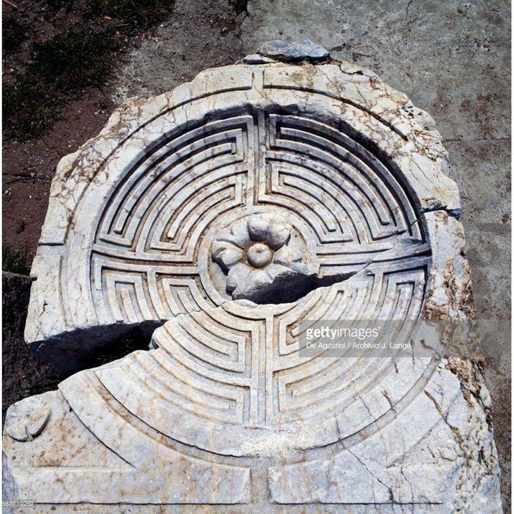 Labirinto di Side (Anatolia) - Recuperando