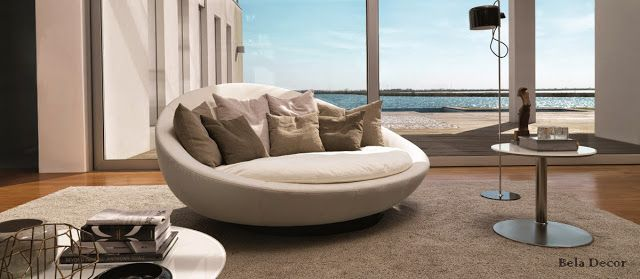 Discover All The Information About The Product Round Sofa / Contemporary /  Leather / Fabric LACOON ISLAND By Jai Jalan   Désirée Divani And Find Where  You ...