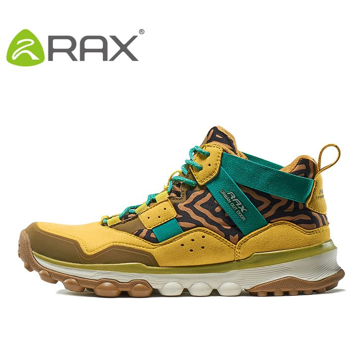 RAX Men's Hiking Shoes 2016 Surface Waterproof Hiking Boots For Men Women Outdoor Breathable Walking Shoes For Men Winter Boots