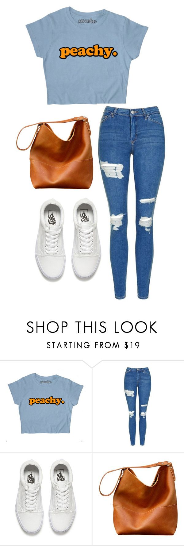 """""""a day downtown"""" by joannachavez8 on Polyvore featuring Topshop and Vans"""