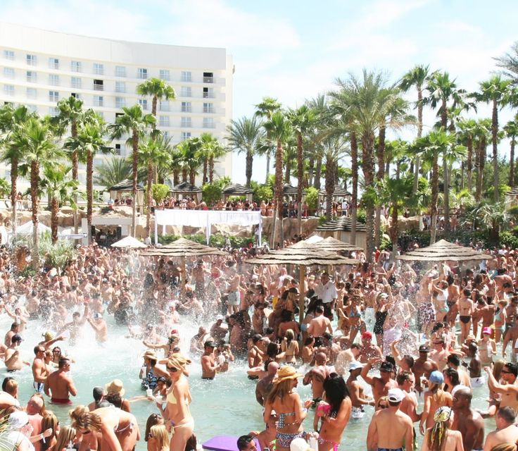 Rehab Pool Party @Hard Rock Hotel & Casino Las Vegas