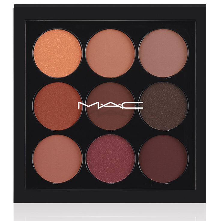 EYES ON MAC Burgundy Times Nine x 9 Eyeshadow Palette
