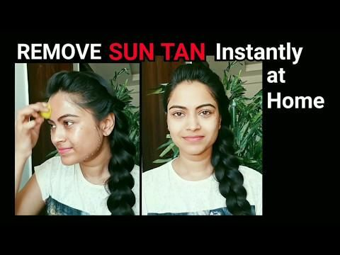 Remove SUN TAN Instantly At Home// Home Remedies//Summer Skincare// Hairstyle Diaries