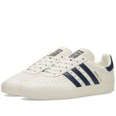 Adidas 350 (Off White & Collegiate Navy)