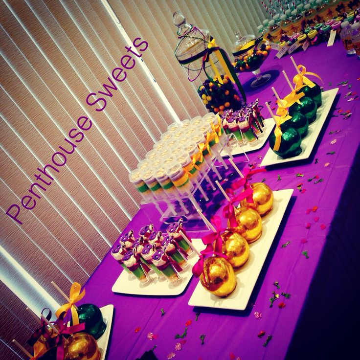 mardi gras baby shower sweets table baby shower cakes pinterest themed baby showers sweet. Black Bedroom Furniture Sets. Home Design Ideas