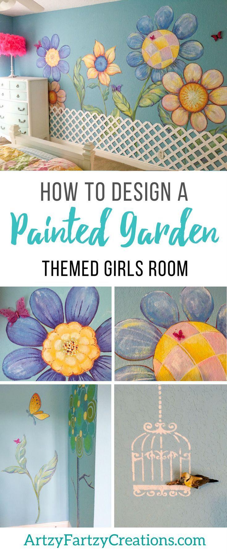 Enjoyable A Garden Themed Girls Bedroom Makeover Hobbies That Make Download Free Architecture Designs Oxytwazosbritishbridgeorg