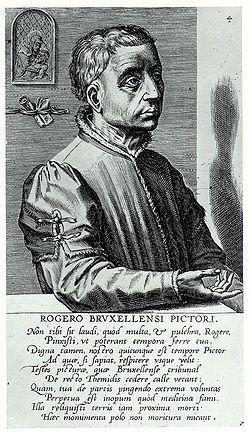 Portrait of Rogier van der Weyden (1572)