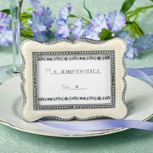 Victorian Place Card Favors - adorable favors and decorations for your #wedding!  http://www.favorfavor.com/page/FF/PROD/7770