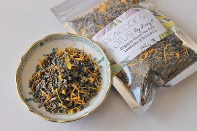 organic tea blends by peacock & lotus - Peacock & Lotus