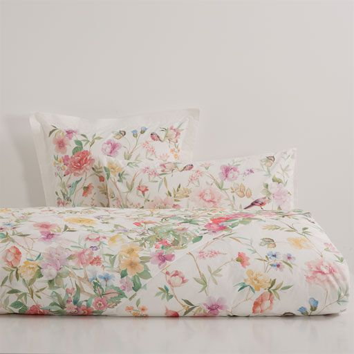 FLORAL PERCALE COTTON BED LINEN