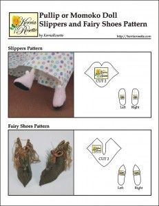how to: slippers/fairy shoes