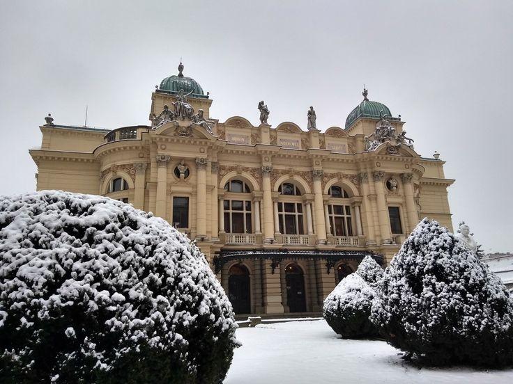Teatro Municipal em Cracóvia /Polônia 02/2018
