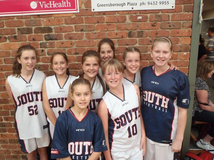 U/14 Girls in Eltham.