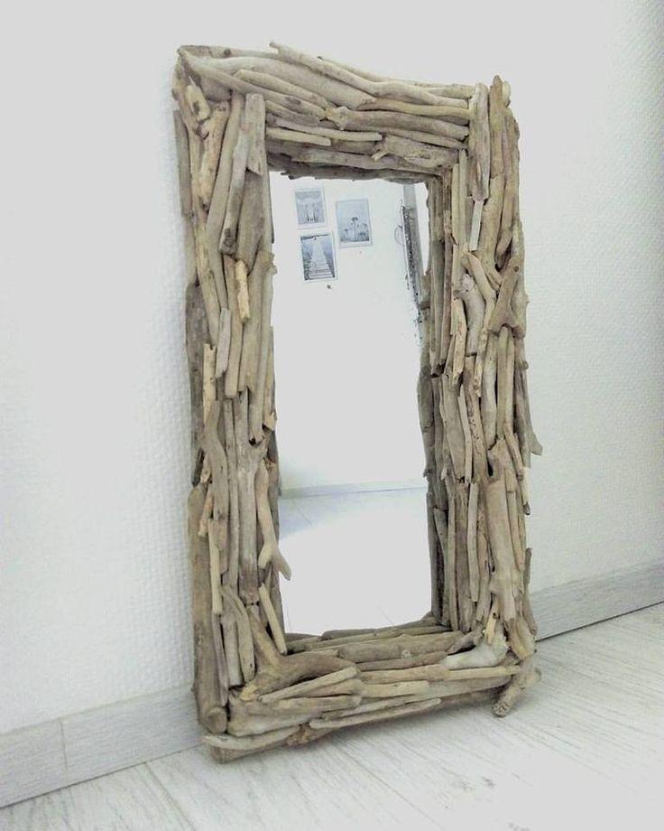 bois flotté miroir