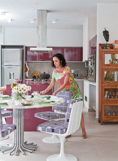 8 cozinhas acolhedoras - Casa                                                                                                                                                                                 Mais