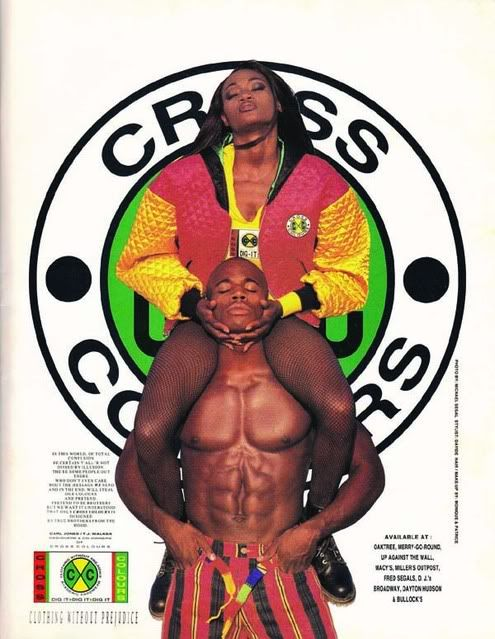 Cross Colours: Clothing without prejudice.