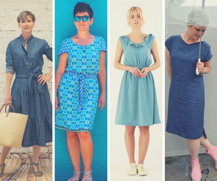 10 great patterns for a summer dress made of woven fabric