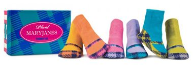 how cute these socks are!: Plaid Maryjan, Assorit Socks, Plaid Socks, Maryjan Plaid, Boots Socks, Baby Girls, Mary Jane, Gifts Boxes, Maryjan Socks