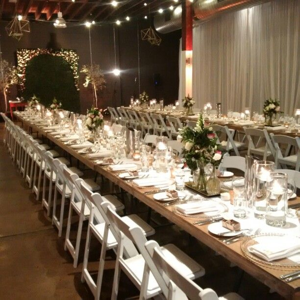 Lightspace wedding styled by Fashionable Society Events