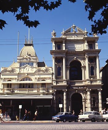 old arcade in Pall Mall Bendigo (where Matchworks is now)