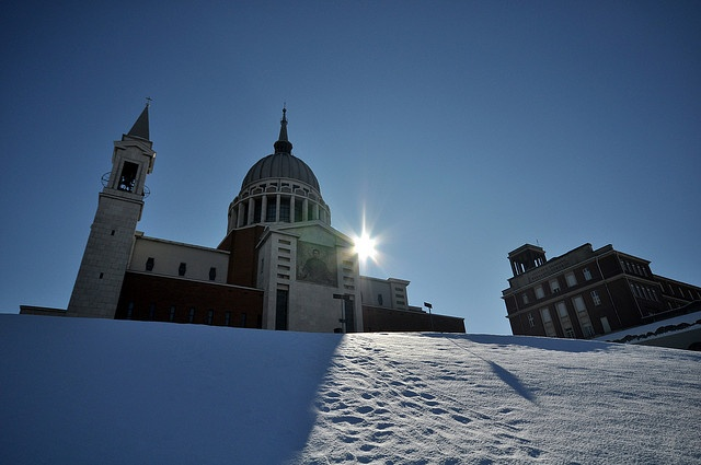 Hermosa fotografía del Templo de Don Bosco en Italia.