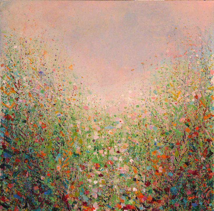 """Saatchi Online Artist: Sandy Dooley; Acrylic, 2012, Painting """"Meadow"""""""
