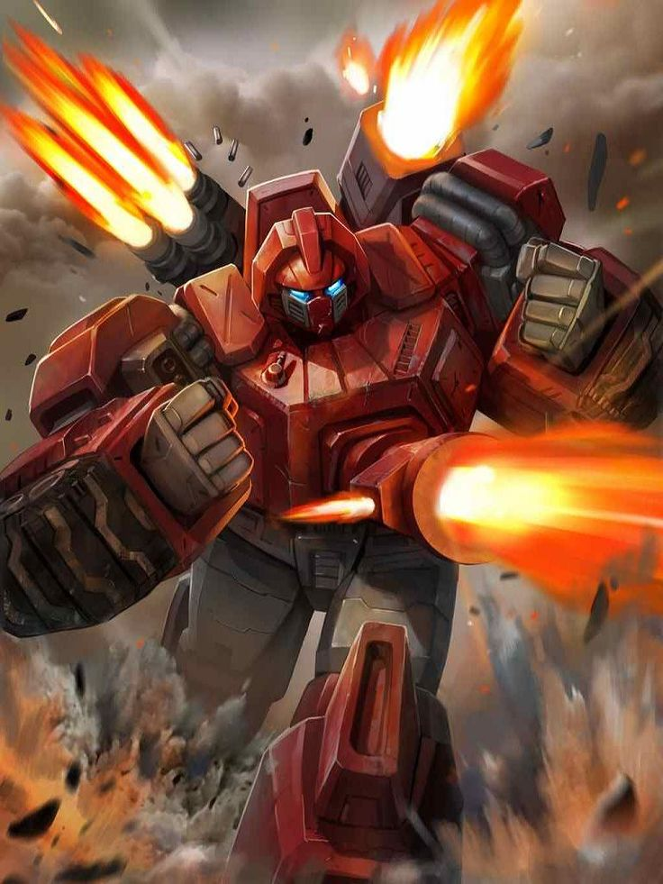 Autobot Warpath Artwork From Transformers Legends Game