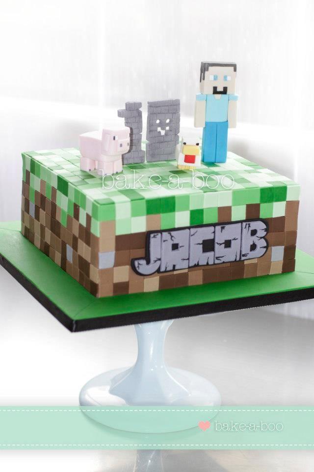 Minecraft Birthday Cake Asda