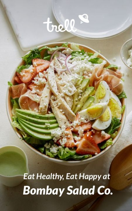 Eat Healthy, Eat Happy :D  Tag all the Salad Lovers!  #HappyTrelling