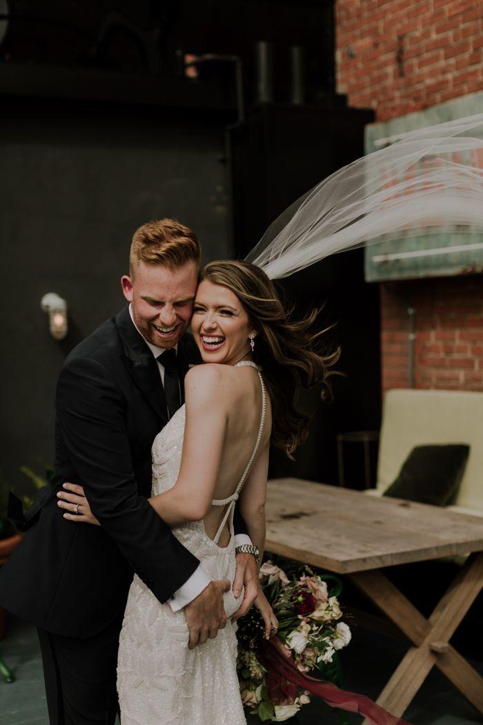 Lush Industrial Toronto Wedding At The Broadview Hotel Junebug Weddings In 2020 Toronto Wedding Junebug Weddings Classic Wedding Styles