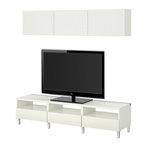 ikea best tv storage combination laxviken white 379 living room furniture pinterest. Black Bedroom Furniture Sets. Home Design Ideas