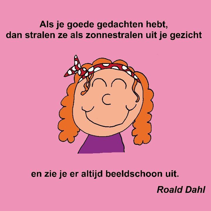 Citaten Roald Dahl : Beste afbeeldingen van gedachte kracht psychologie