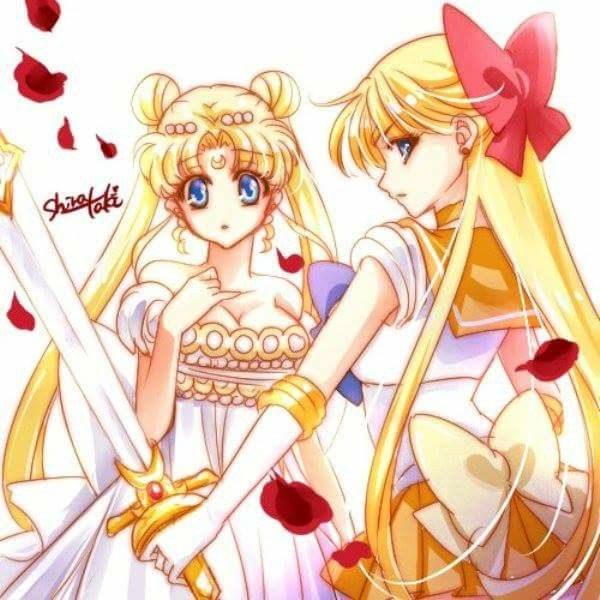 Princess Serenity and Sailor Venus