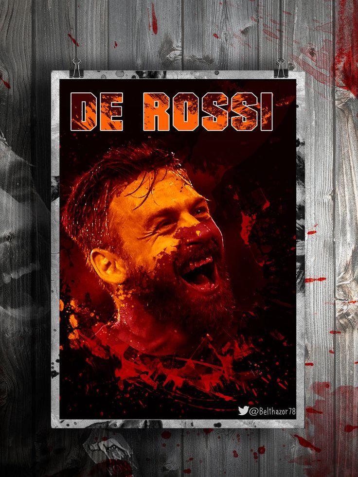 Daniele De Rossi Poster by Belthazor78.deviantart.com on @DeviantArt