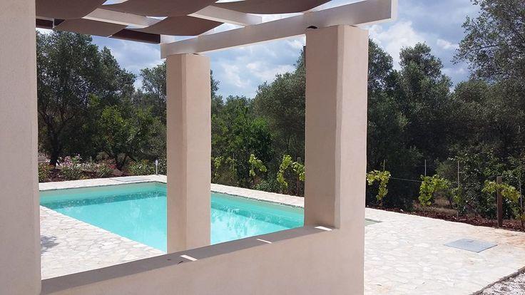 TrulliPesca, a beautifully restored 2 bedroom, 2 bathroom trulli for rent, with private swimming pool, WiFi, in countryside of Ostuni Puglia Italy. www.homeaway.co.uk/p1406277 #trulliforrent #TrulliPesca #UniqueHolidayHomes #Ostuni #Puglia #weareinpuglia #escapetoitaly #archilovers #RomanticItaly #ItalianVillas