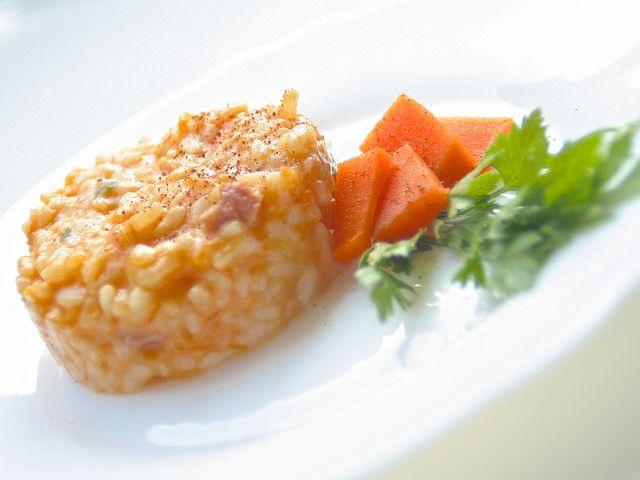 risotto zucca e pancetta ⭐