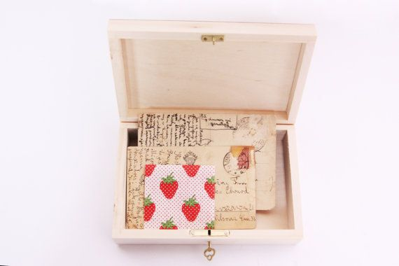 Wedding Gift Lock Box : box with key treasure box lock treasure chest wedding jewelry gift ...