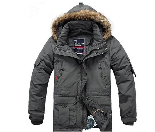 BRAND Winter Jacket for Men Down Parka Plus Size 5XL Warm Coat Windproof Hooded Down Jackets Men Winter Coats Parkas Outdoor US $63.61  CLICK LINK TO BUY THE PRODUCT  http://goo.gl/oYWEYs