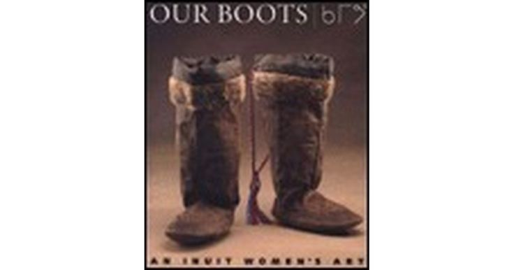 In the Canadian Arctic, animal skin boots are worn to provide protection from the low temperatures. The boots are made by the Inuit women...