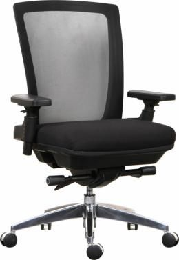 this bariatric office chair is rated for 350 pounds u0026 multishift use meaning it is a heavy duty office chair i like that is a mesh back office chair - Heavy Duty Office Chairs