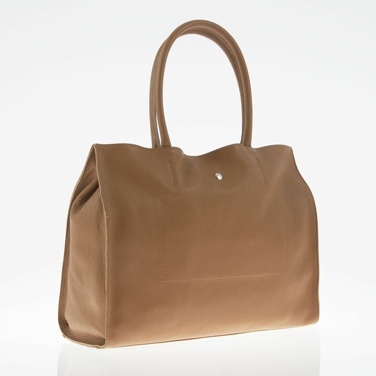 Alice marrone (brown) - borsa bianca a mano in vera pelle by kokomamas collections spring summer 2014 (bags and accessorized)