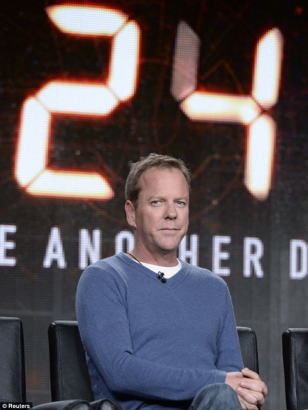 Kiefer Sutherland admits to nerves as he preps to bring 24 ...