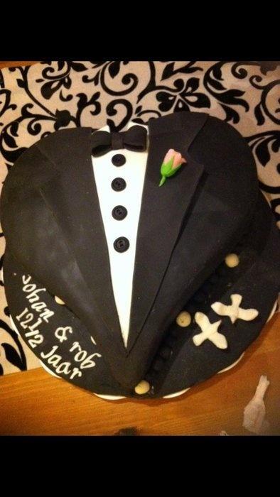 Tuxedo cake  Cake by Carrie68