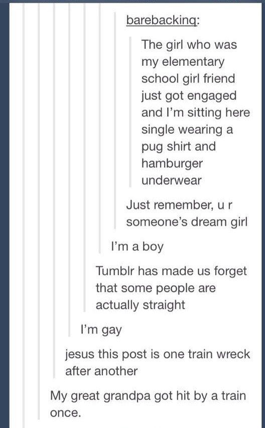 When it got so confused about its sexuality that an old man died. | 21 Times Tumblr Was An Absolute Disaster