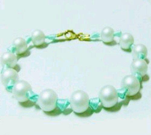 Cara Praktis Buat Gelang Pita dan Manik-Manik atau Ribbon Bead Bracelet dalam 15 Menit | Zona Kreatif